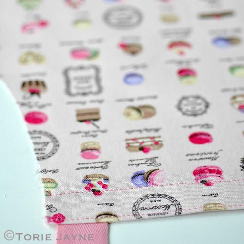 Girls Apron sewing tutorial 4