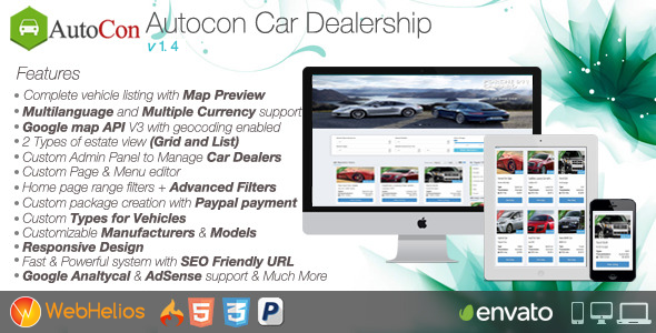 Autocon Car Dealership v1.7.0