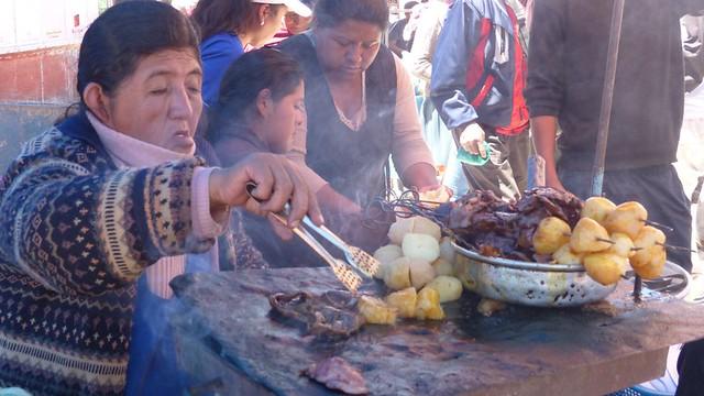 Anticucho - Coeur de boeuf barbecue, et je parle pas des tomates