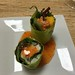 Mango crab salad rolled in soy bean paper
