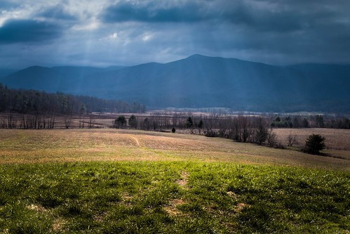 mountains field canon landscape tn tennessee stormy hills appalachia smokymountains lightrays 24105mm