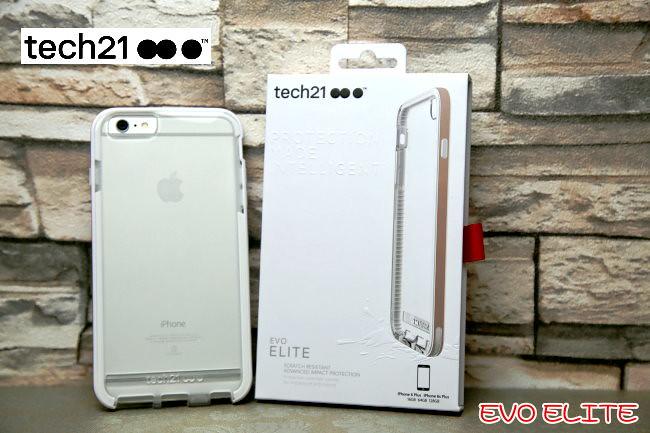 [開箱] iPhone保護殼專家 – tech21 EVO ELITE,搭配 FlexShock 抗衝擊防護材質