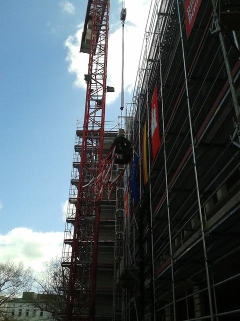Richtfest 2. Bauabschnitt Rathausforum Harburg