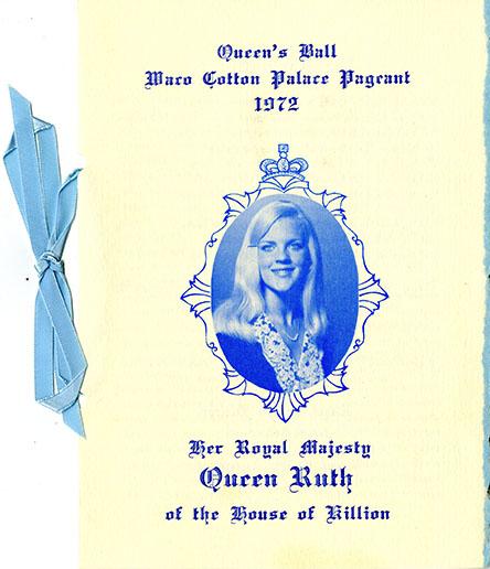 Waco Cotton Palace Queen's Ball, 1972