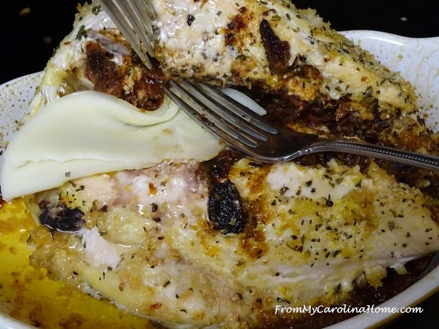 Sundried Tomato Stuffed Chicken | From My Carolina Home
