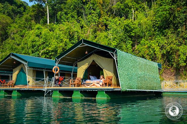 Elephant Hills Luxury Floating Tent Khoa Sok National Park Cheow Larn Lake