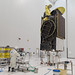 EUTELSAT 65 West A is fueled in the Spaceport's S5 satellite preparation facility