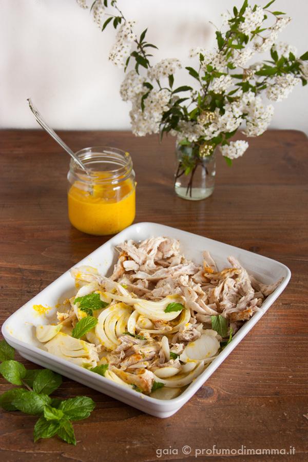 Ottolenghi pollo finocchi e salsa di arance
