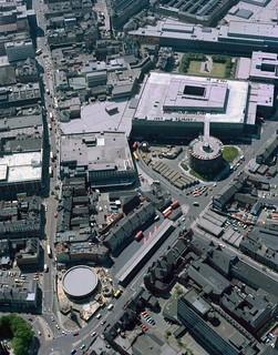 The Haymarket, Newcastle upon Tyne, 1978