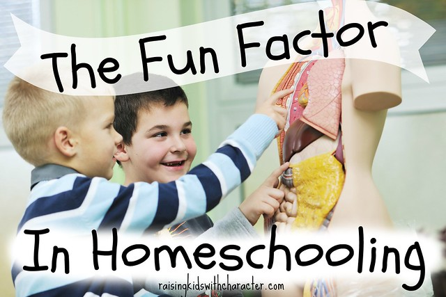 The Fun Factor in Homeschooling