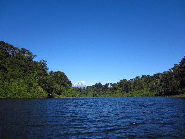 Views While Kayaking near Puerto Varas, Chile