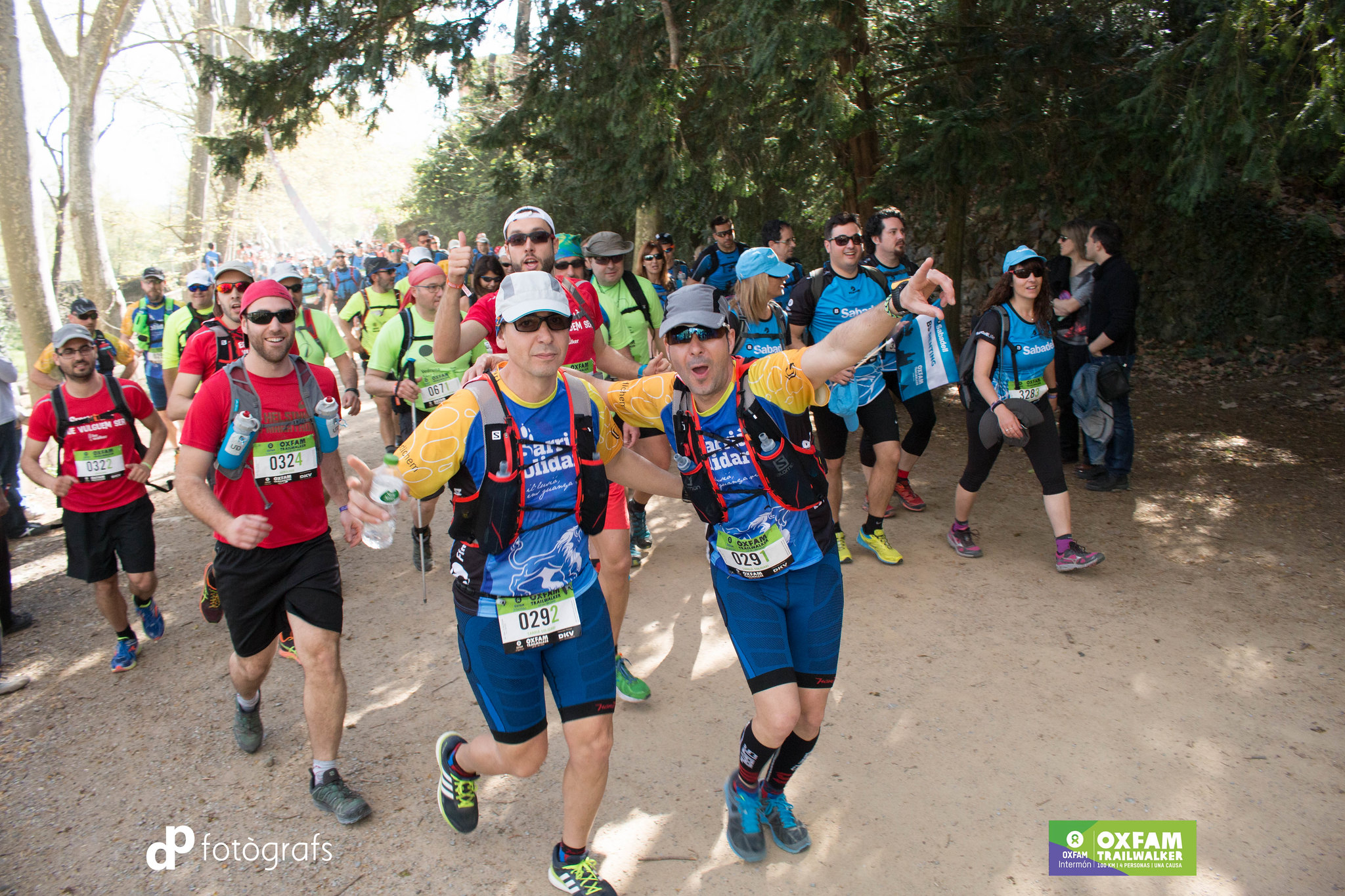 Oxfam Trailwalker 2016 Girona