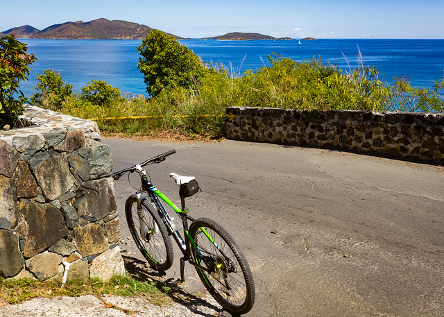 Biking in Paradise