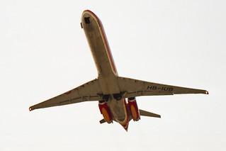 CTA - Compagnie de Transport Aerien McDonnell Douglas MD-87 (DC-9-87) HB-IUB