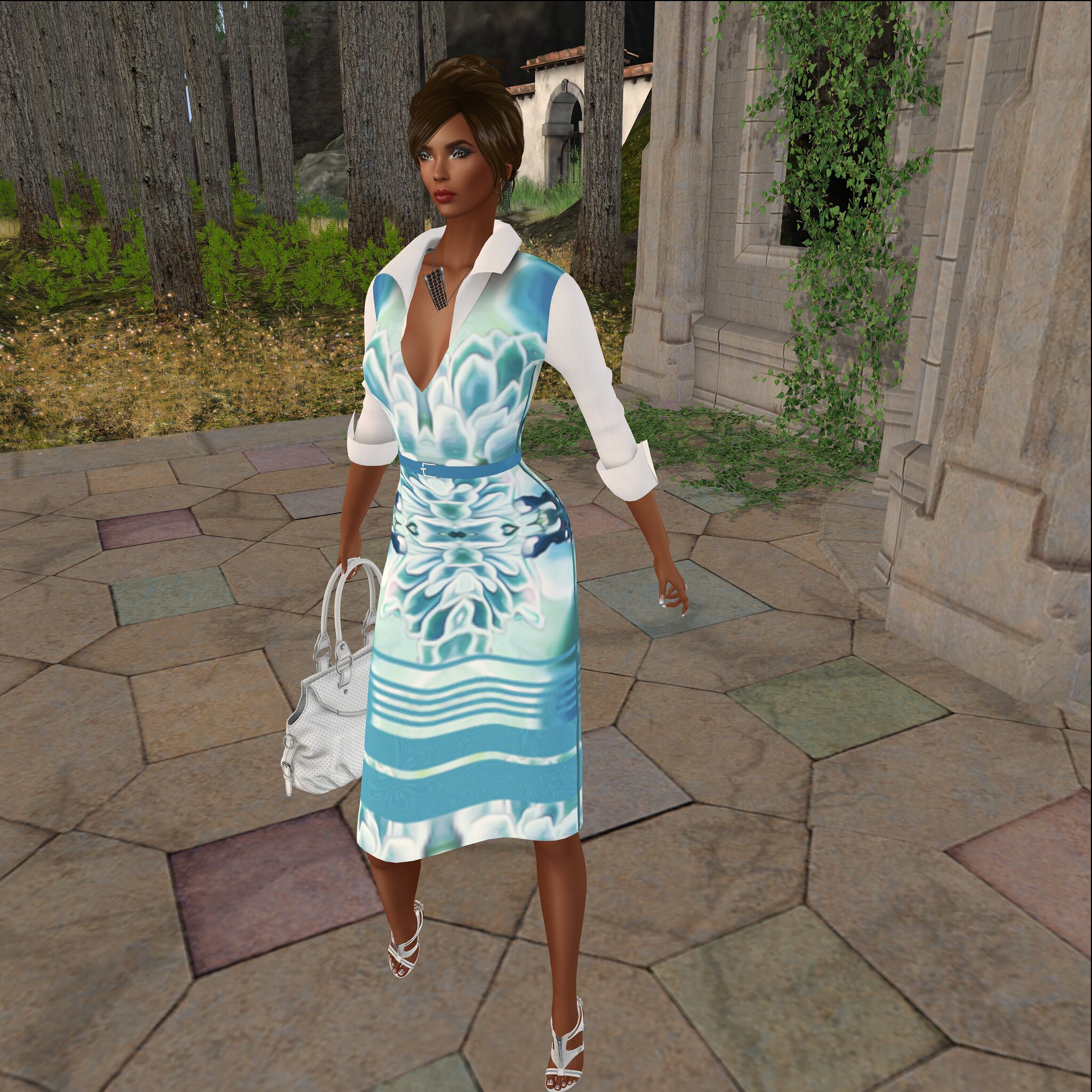 More Than Ever @ Designer Showcase- Desert Painted Dress