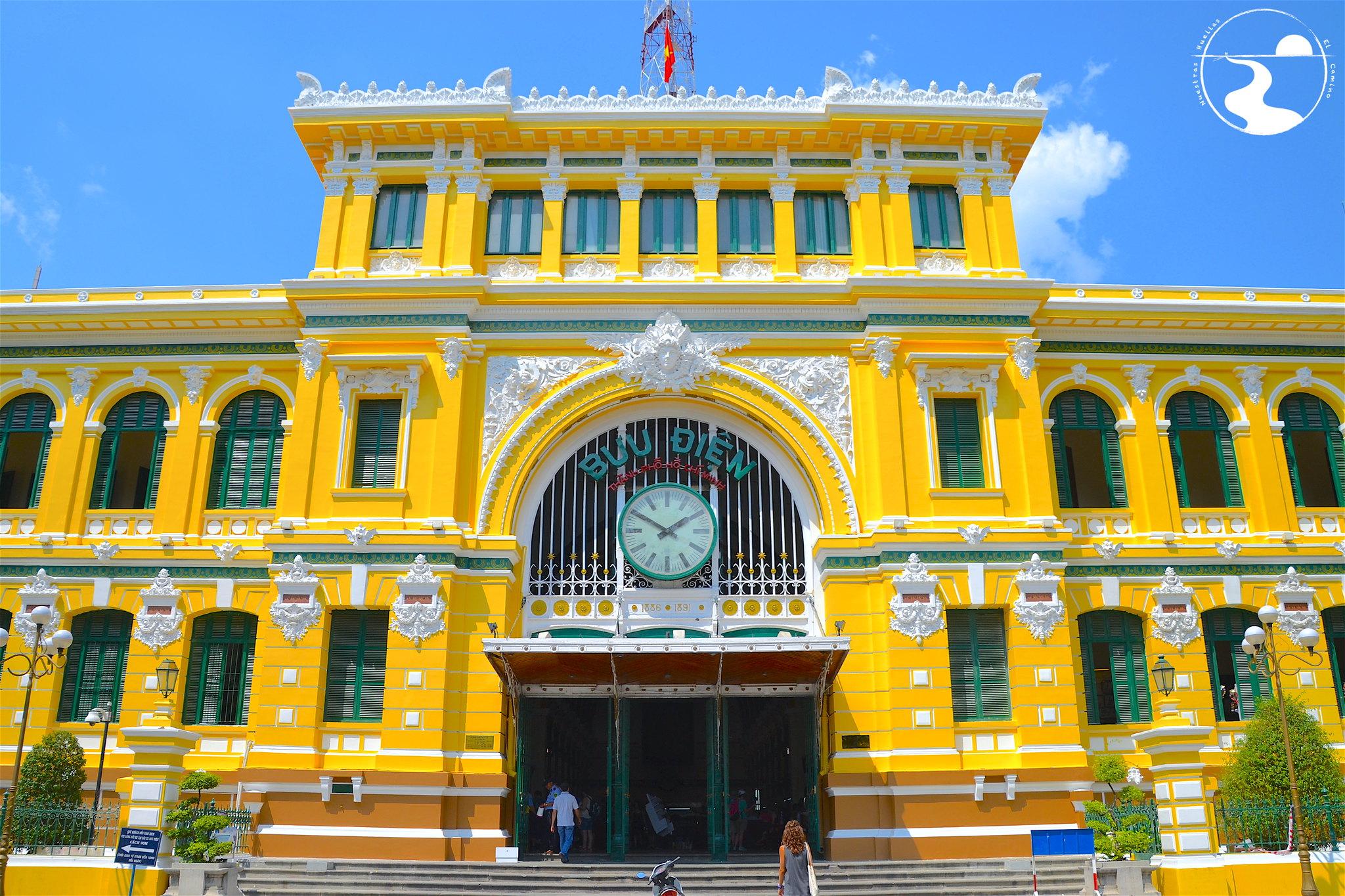 Oficinas centrales de correos, Saigon