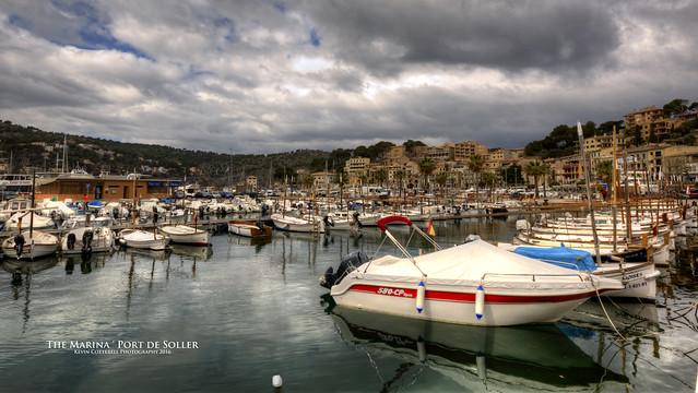 The Marina `Port de Soller