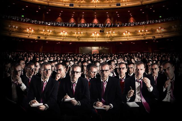 Production image for Kasper Holten's new production of Wagner's Die Meistersinger © AKA. ROH 2016