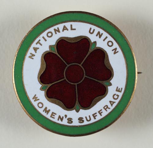 NUWSS badge