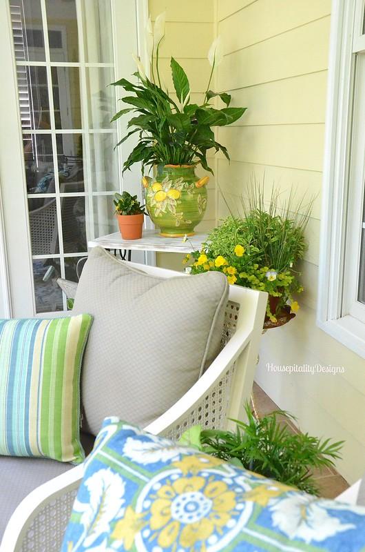 Spring Upper Porch 2016 - Housepitality Designs