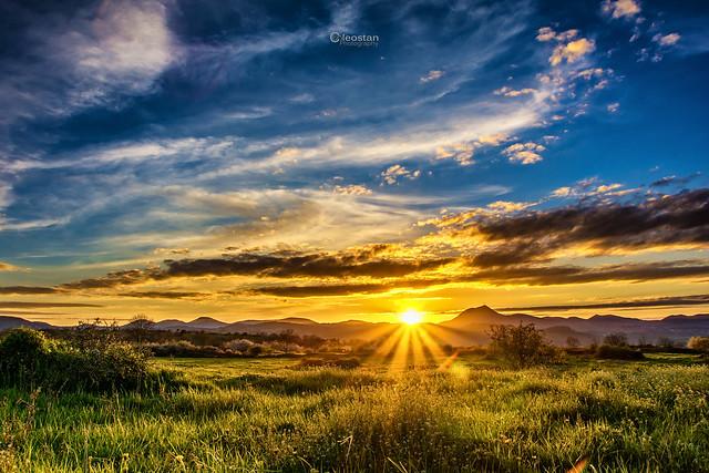 Coucher de soleil - Sunset