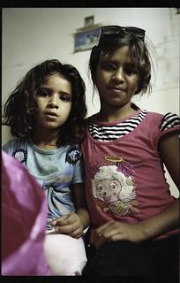 sisters living-in  Petra, Ma`An, Jordan