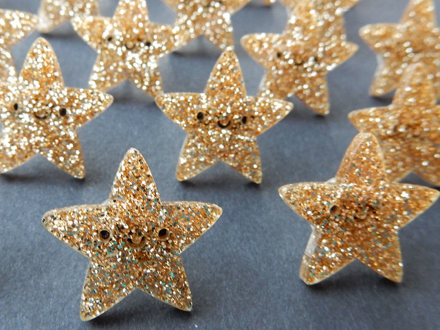 Star pins for Super Cute Box