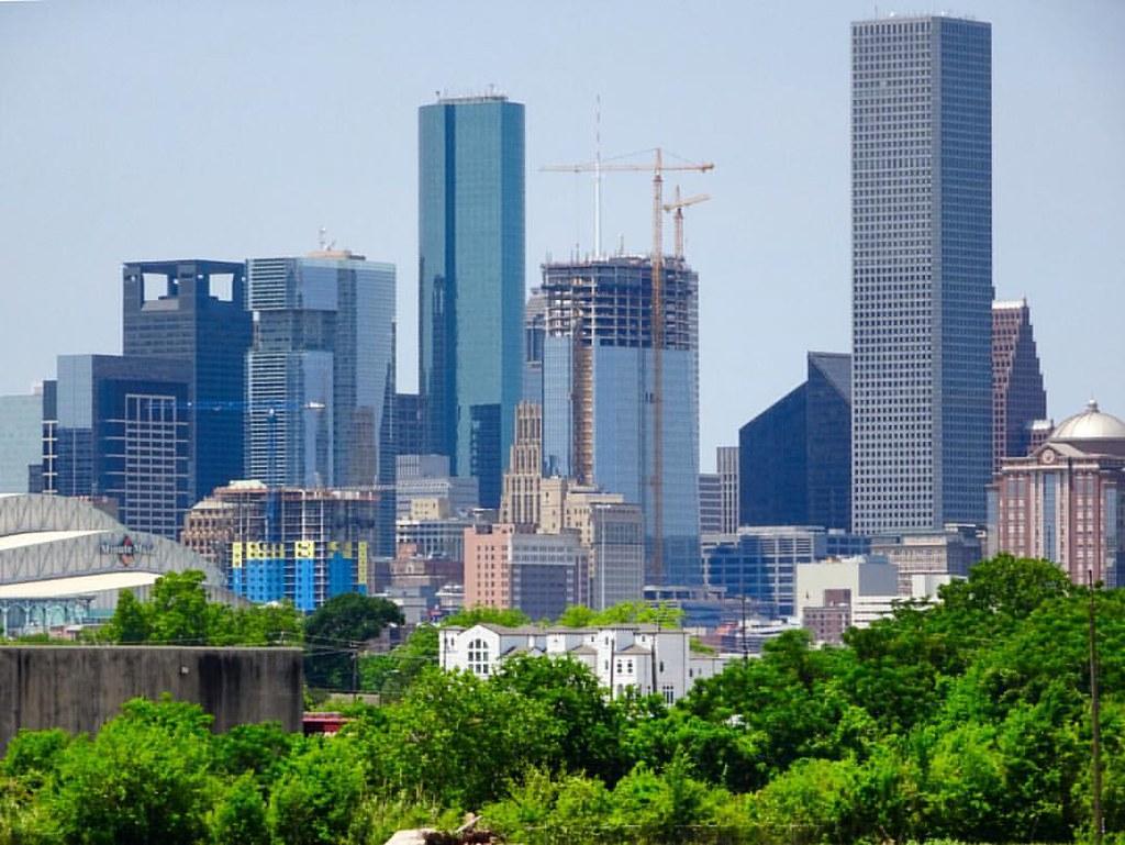 #Downtown #Houston #skyline