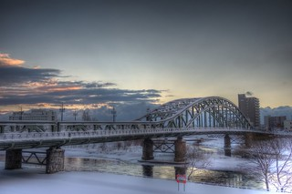 Asahibashi-Bridge in morning on JAN 09, 2016 (16)
