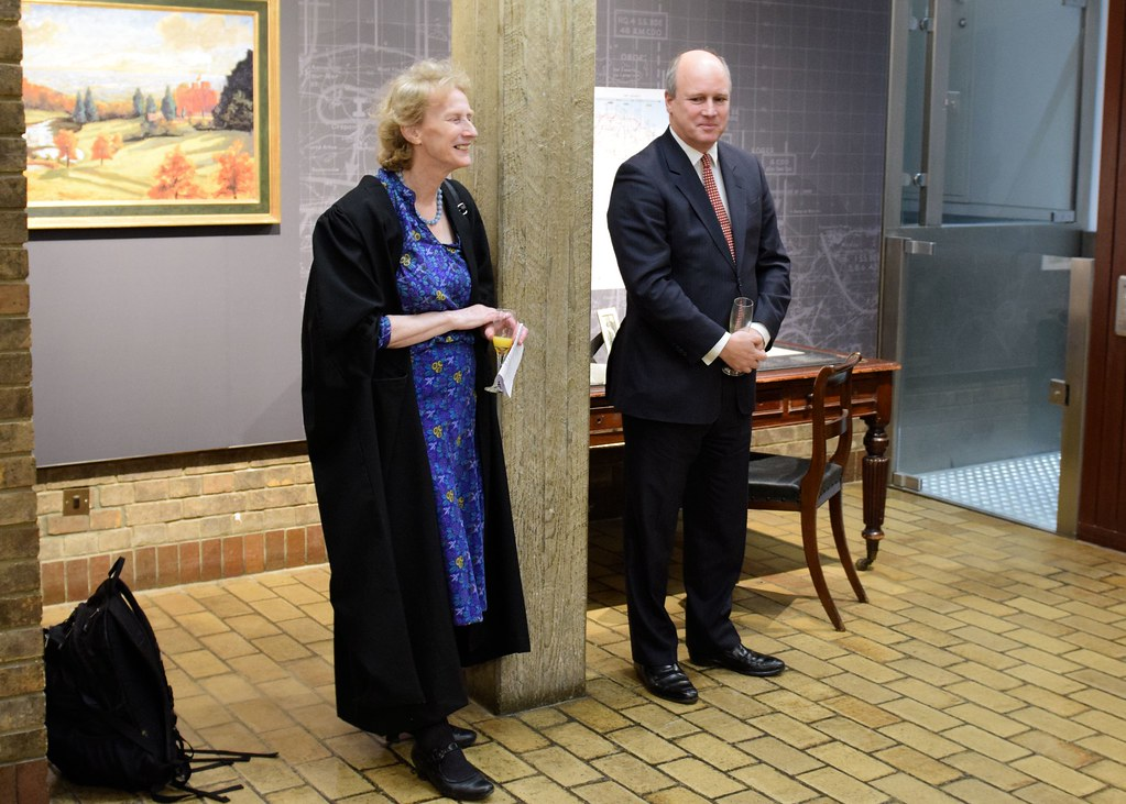 Opening of the College Archives display