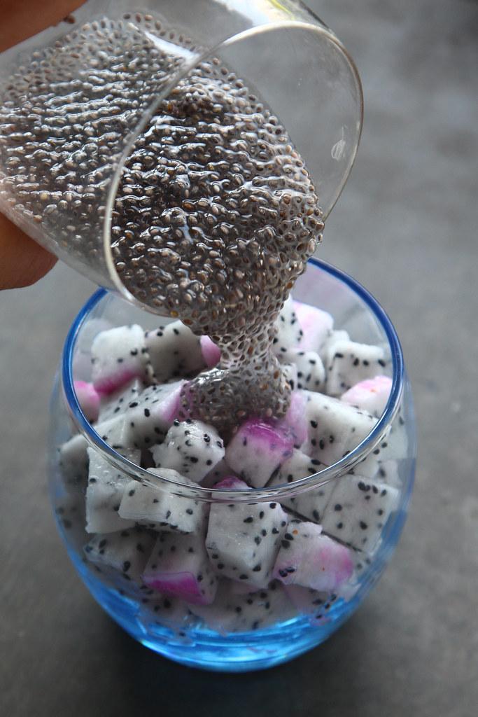 Chia Seed Dragonfruit