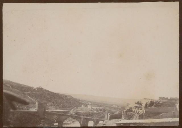 Puente de San Martín enToledo hacia 1909