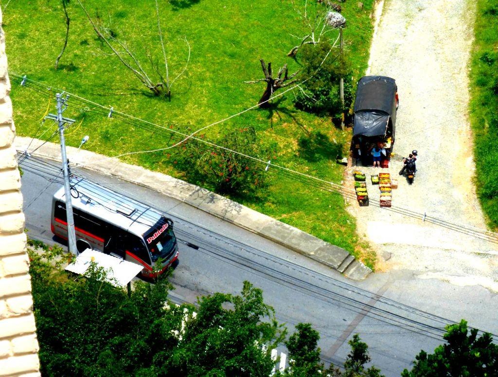 Medellin Colombia Bus