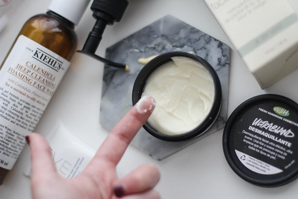 desmaquillante lush crema limpiadora
