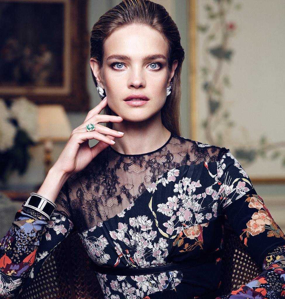 Наталья Водянова — Фотосессия для «Vogue» ES 2015 – 2