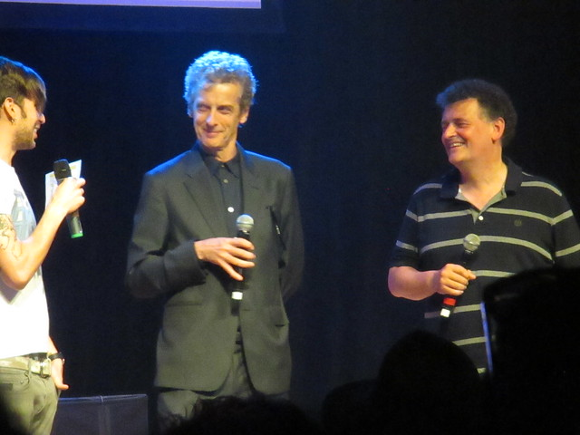 Peter Capaldi and Steven Moffat at The House of Blues by Peter Lee