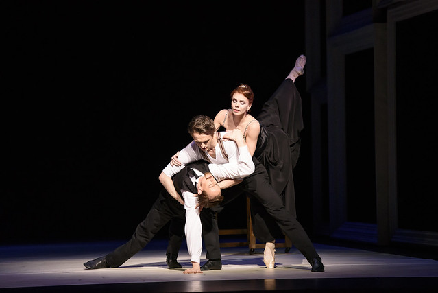 Edward Watson, Matthew Ball and Natalia Osipova in Strapless © ROH 2016. Photo by Bill Cooper