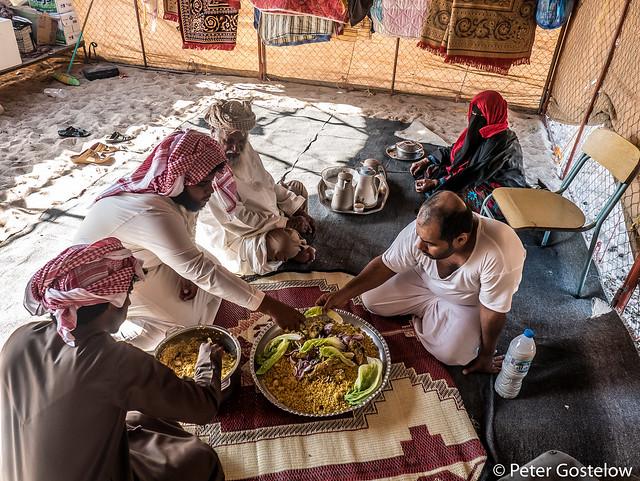 Bedu tent Lunch