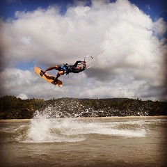 Ganging out in my favourite place kitesurfing #fourmilebeach #windswellportdouglas