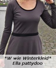 W wie Winterkleid Ella pattydoo