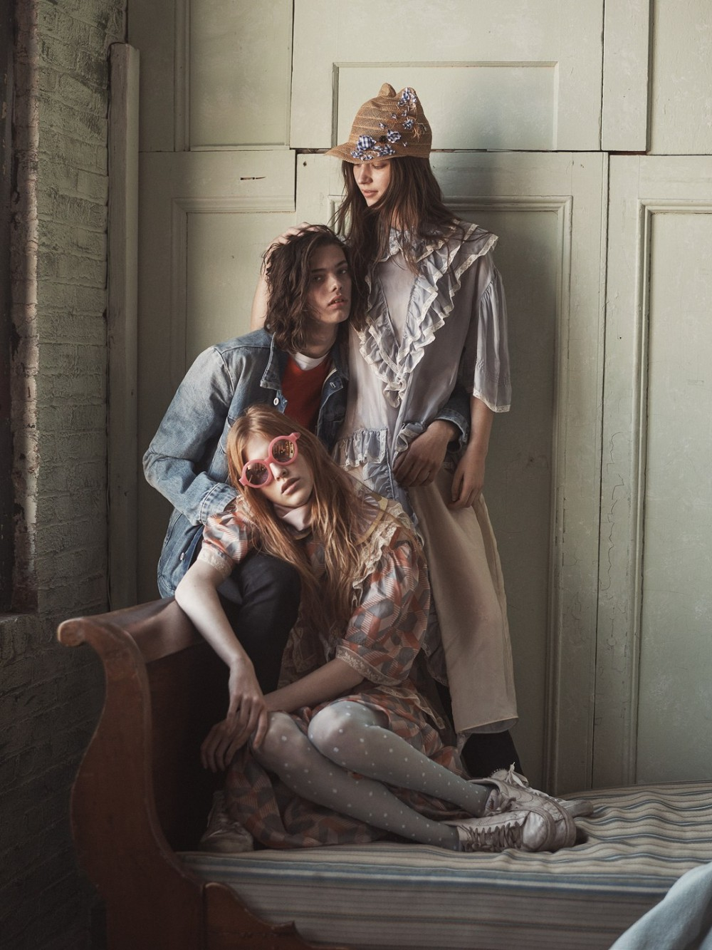 Lottie Hayes, Niki Trefilova, Erin Mommsen By Steven Pan For Numéro #170 February 2016 9