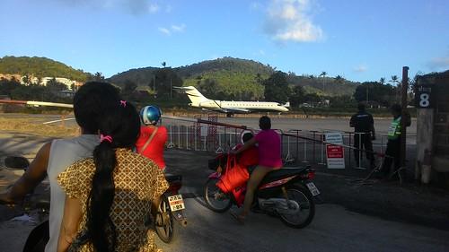 Koh Samui Runway