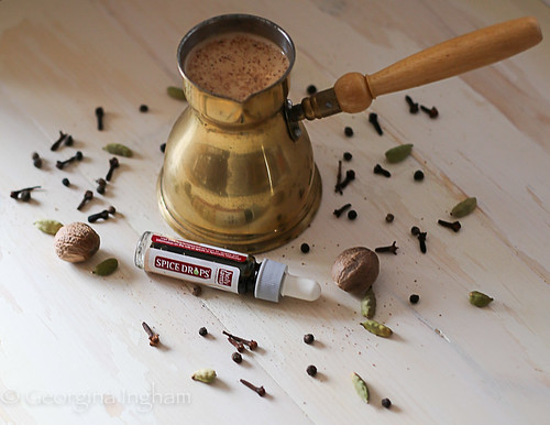 Georgina Ingham Traditional Masala Chai with Holy Lama Spice Drops