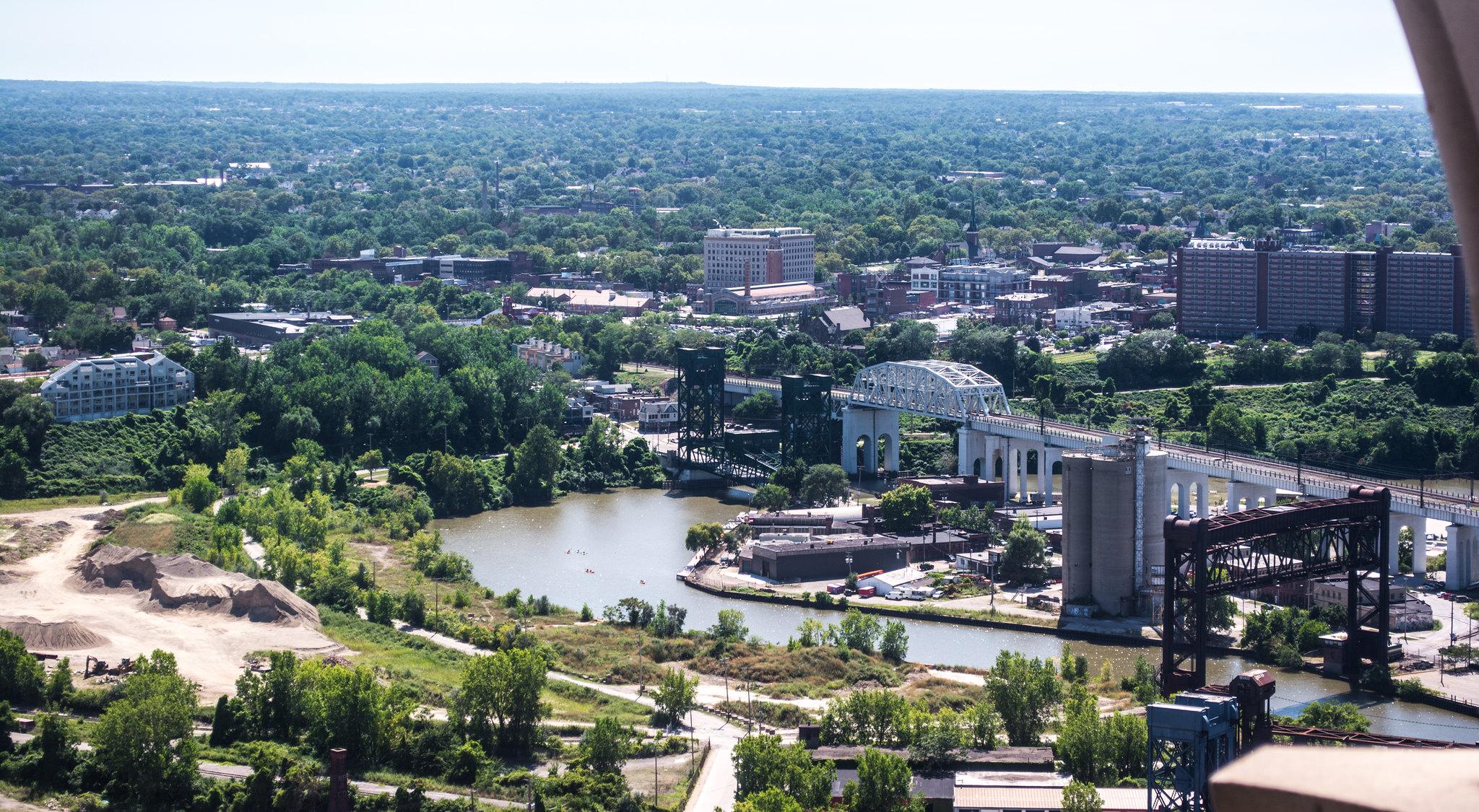 Scranton Flats - Irishtown Bend - Cuyahoga Viaduct 02 - Cleveland Ohio