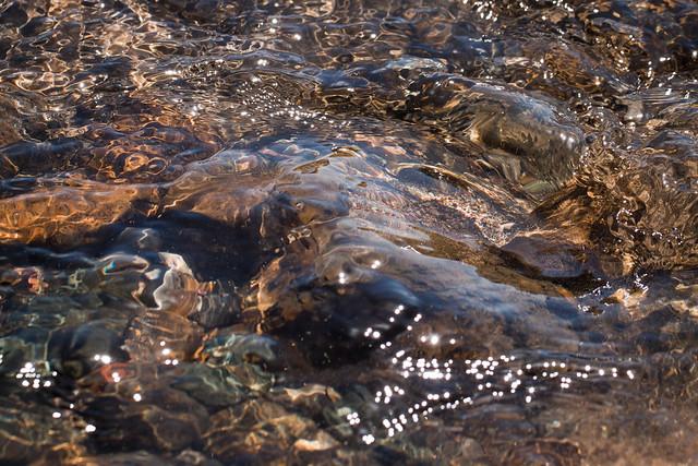 Water, Rocks, Light