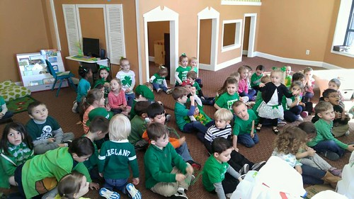Pre-K St. Patrick's Day Party 2016