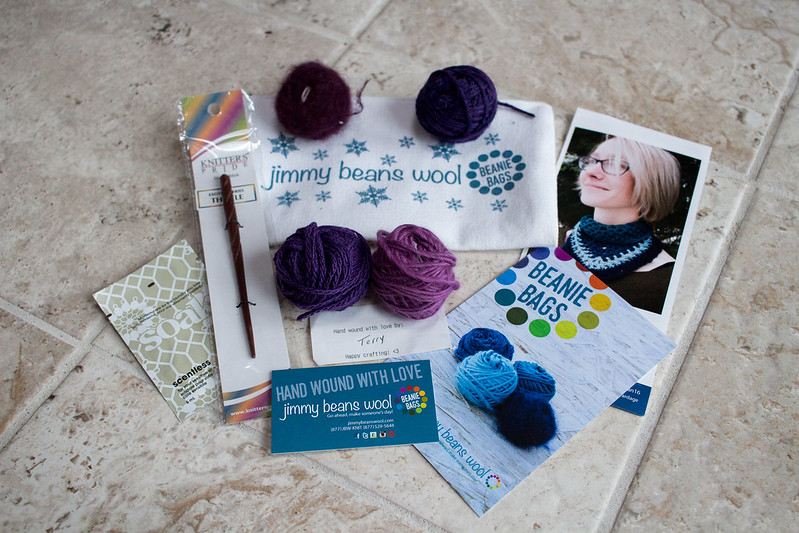 Jimmy Beans Beanie Bags, January 2016