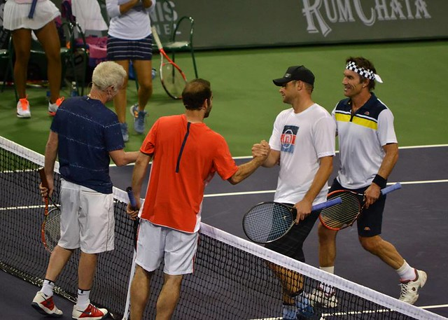 McEnroe, Sampras, Roddick and Cash