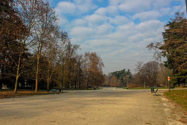 Parque Sempione de Milán