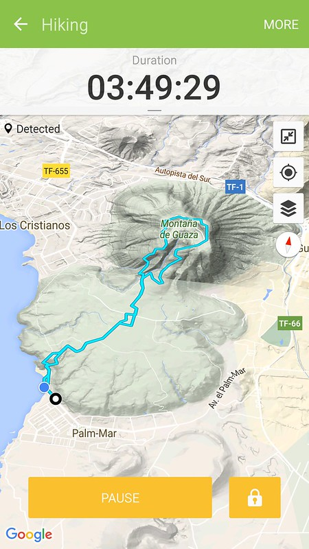Mount Guaza Hiking route